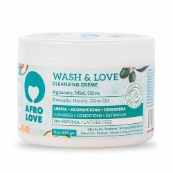 Hair Care - Afro Love -  Wash & Love Cleansing Cream 2 in 1