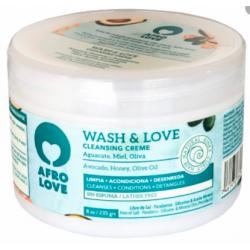 Cuidado Cabello - Afro Love - Wash & Love crema limpiadora 2 in 1