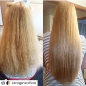 AVANT & APRÈS  Avec le traitement capillaire de KerarganiC   #Repost @kerarganicofficial • • • • • • We can only say this #BeforeAndAfter with the #OrganicKeratinTreatment is spectacular! By: @sarahleyvag  💁💁💁💁💁💁💁💁💁 #avantetapres #Keratin #Organic #OrganicIngredients #StraigthHair #KerarganicExperience #KerarganicTeam #GoOrganic #GoKerarganic #TheHairOfYourDreams #BeautyProfessional #ProfessionalBeauty #ProfessionalStylist #Stylist #NaturalIngredients #HairCare #HairMiracles #GorgeousHair #BeautifulHair #HealthyHair #GoodHairDay #GloriousHair #GoodHairDayEveryday #HairLovers  #InstaHair
