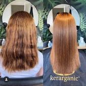 Pour un lissage parfait et sans effort  ==> KerarganiC  Ici un bon exemple d'un lissage avec #OrganicIngredients sans Formol ni parabens  . . Repost : kerarganicofficial  A new #BeforeAndAfter, a #HairMakeOver done by @oh_my_hair_keratin_ using Kerarganic! 🌿🌿🌿🌿🌿🌿🌿🌿🌿 #KerarganicKeratinTreatment #HairCare #HairMiracles #GorgeousHair #BeautifulHair #HealthyHair #Beauty #BeautyProfessional #ProfessionalBeauty #ProfessionalStylist #Stylist  #GoodHairDayEveryday   #beaucheveux #soincapillaire #keratinetreatment #beauté #sanssulfate #sanssodium #avantaprès #lissage #lissagebresilien #hairbeauty #stylist #ProfessionalStylist #coiffure #coiffeuseadomicile #soincapillaireadomicile